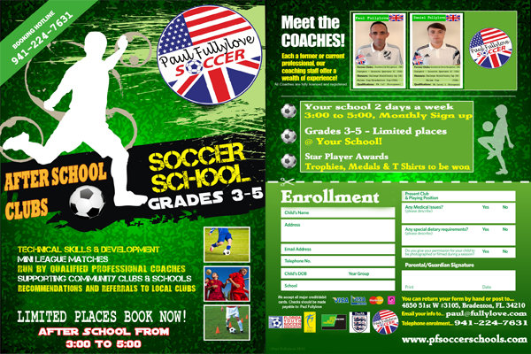 Paul Fullylove Soccer Schools - After school slider