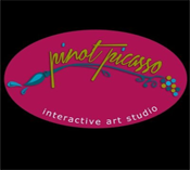 Pinot Picasso Logo - Fullylove